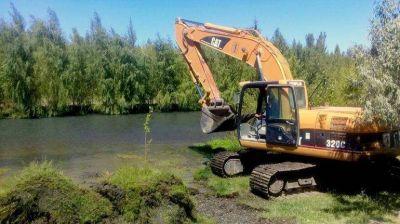 El DPA apura las obras de cloacas y redes aluvionales