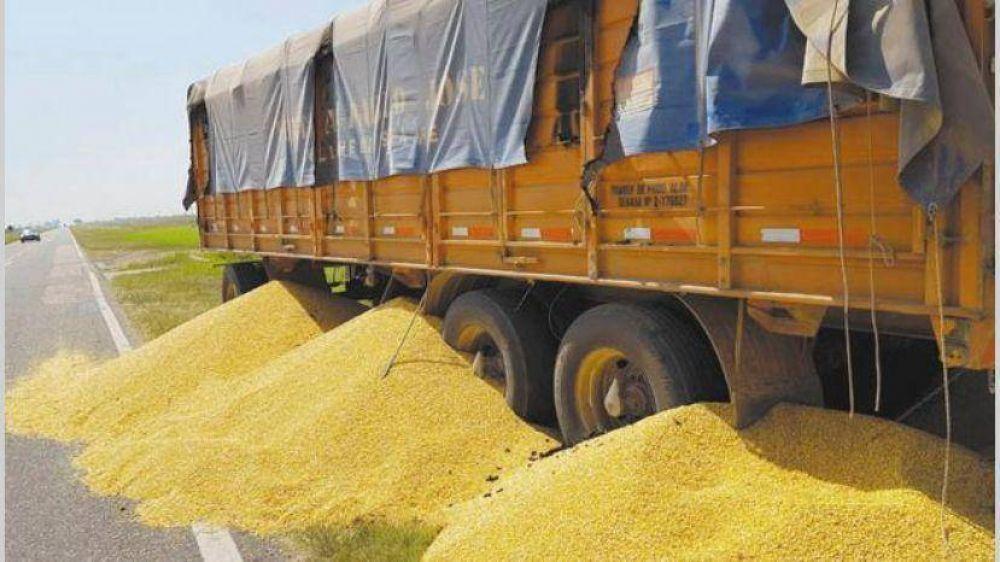 Tregua en conflicto con transportistas y trepó el precio de la soja disponible