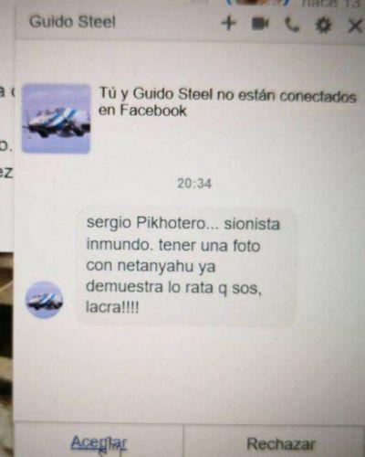El presidente de la OSA recibió amenazas antisemitas