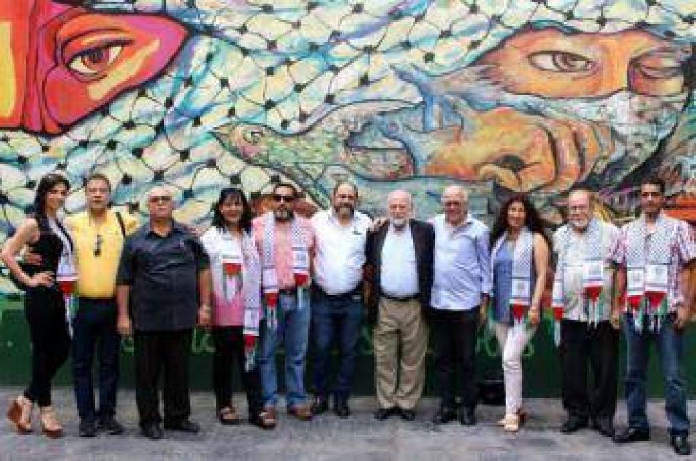 Confederación Palestina, COPLAC, sesionó en Argentina