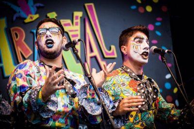 Carnaval de 30 palos verdes, Macri reordena la tropa junto al mar y el muro Vilma