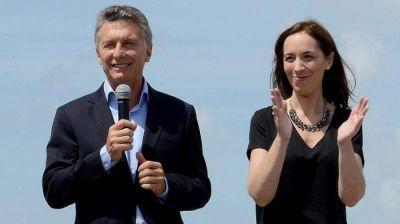 Después de las vacaciones y a un día de las paritarias docente, Macri respalda a Vidal
