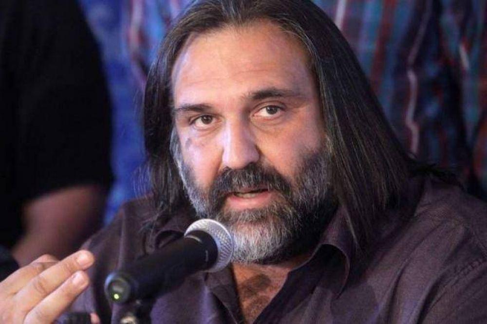 """Baradel dijo que la marcha convocada por Moyano """"no tiene nada que ver"""" con el Frente de Unidad Gremial"""