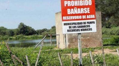 Reiteran la prohibición de ingresar a represas de la planta potabilizadora