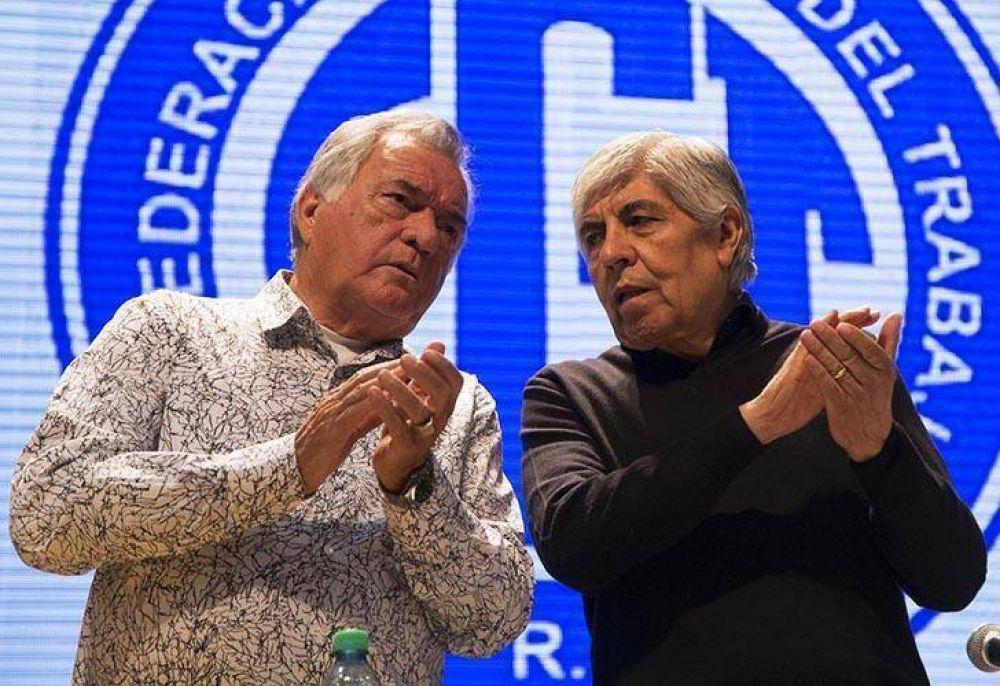 Barrionuevo se bajó de la marcha de Moyano: