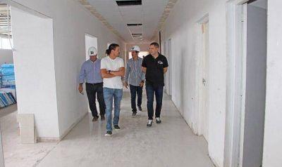 La Costa: De Jesus constató los avances de la obra del nuevo Hospital de Santa Teresita