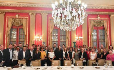 Domínguez Yelpo participó de una reunión con María Eugenia Vidal