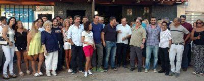 Vilchez reunió al diputado Rago y a concejales en la Unidad Básica Nº 1 Donaldo Nardelli
