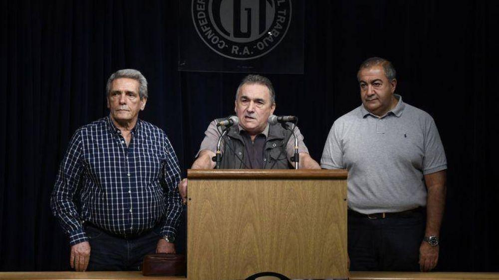 Se fracturó la CGT y los Moyano quieren elegir una nueva cúpula en marzo