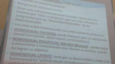 Cátedra de homofobia