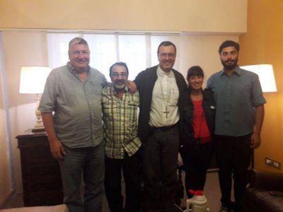 El Obispo recibió a organizaciones sociales de Mar del Plata