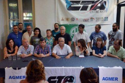 CTA Entre Ríos y otras organizaciones marcharán el 21 contra el ajuste