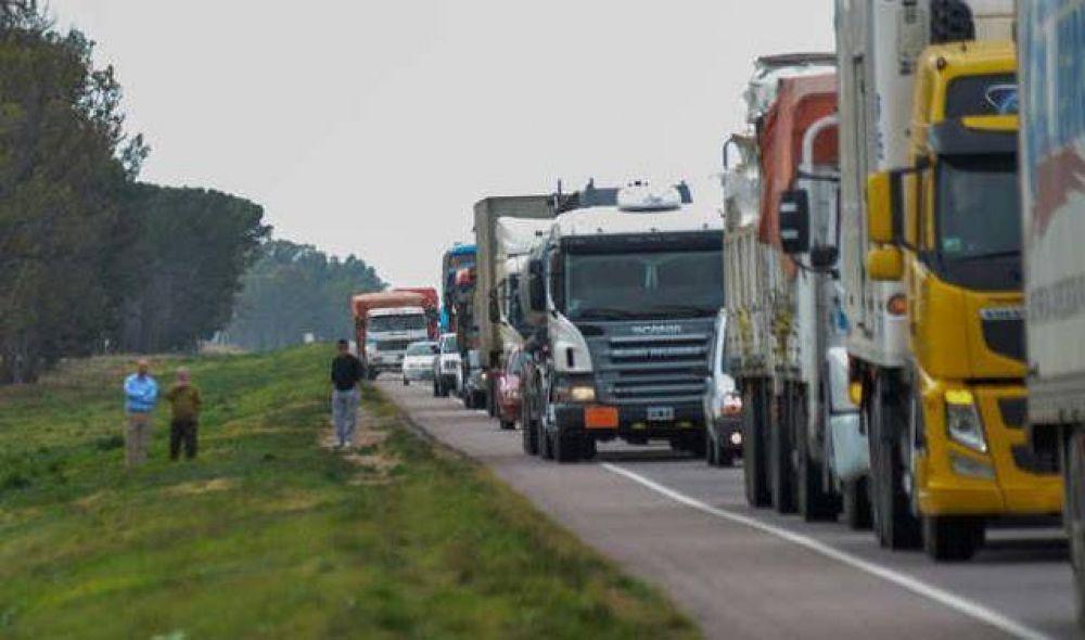 Documento: ¿Qué le prometieron a los camioneros en Puerto Quequén para levantar el paro?