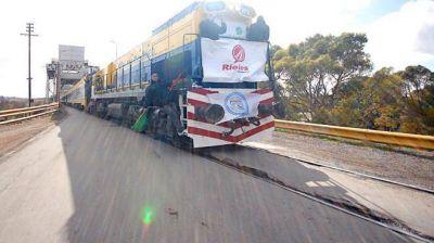 Proyectan un servicio de cargas Bahía Blanca-Viedma