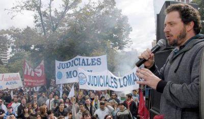 Los judiciales se suman a la marcha de Camioneros