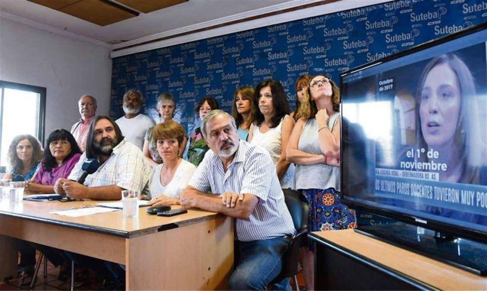 Vidal ofrecerá mañana a los docentes un nuevo pago extra por presentismo