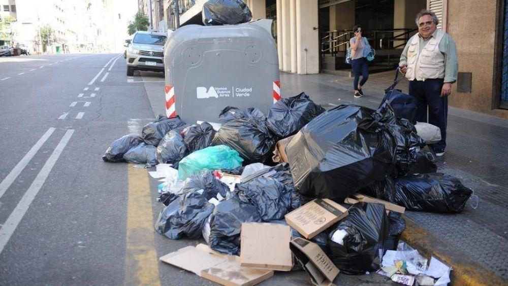 Se extiende la medida de fuerza y este miércoles tampoco habrá recolección de residuos