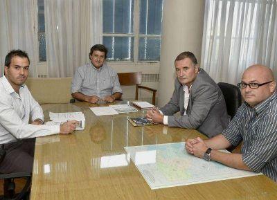 El subsecretario de Hidráulica se reunió con el intendente de Ramallo