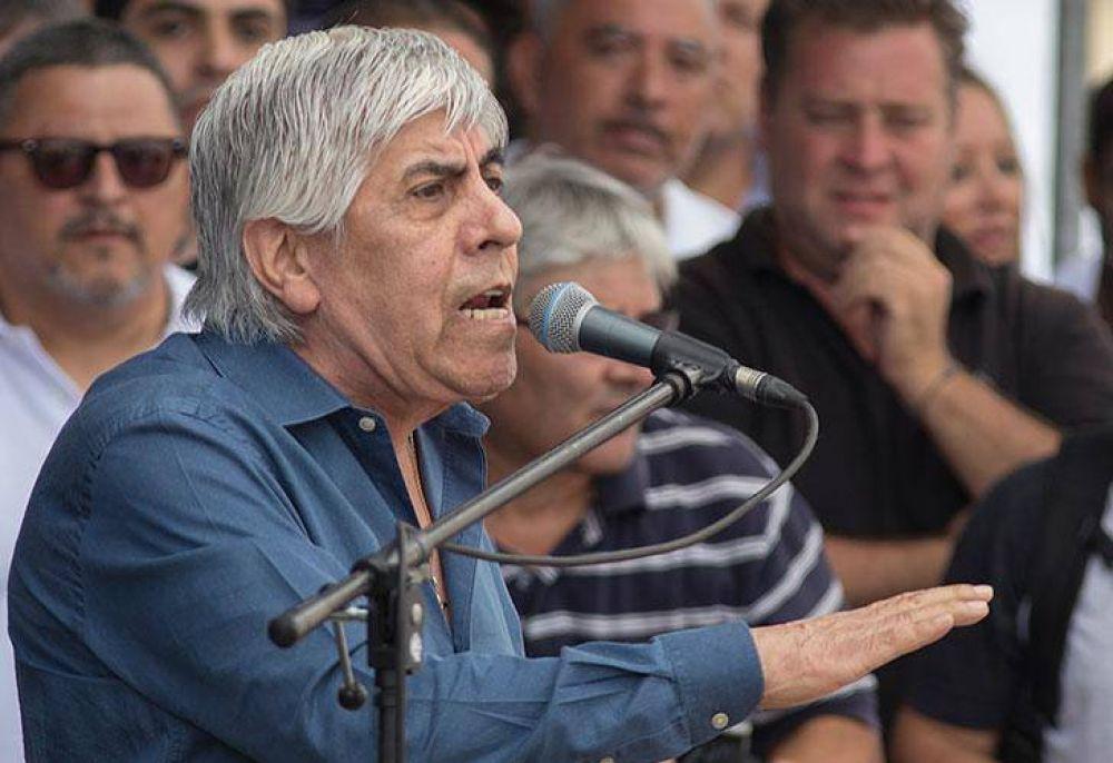 Moyano tuvo una tarde soñada y consolidó su liderazgo opositor
