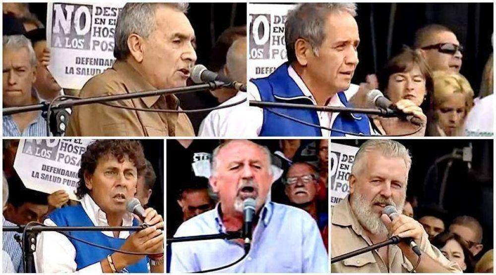 Los discursos de los otros oradores