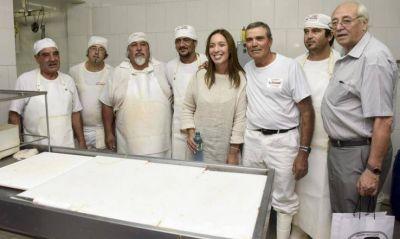 En Lanús, Vidal recorrió una fábrica que invertirá 20 millones de dólares