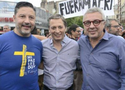 Intendentes peronistas respaldaron la marcha de Moyano:
