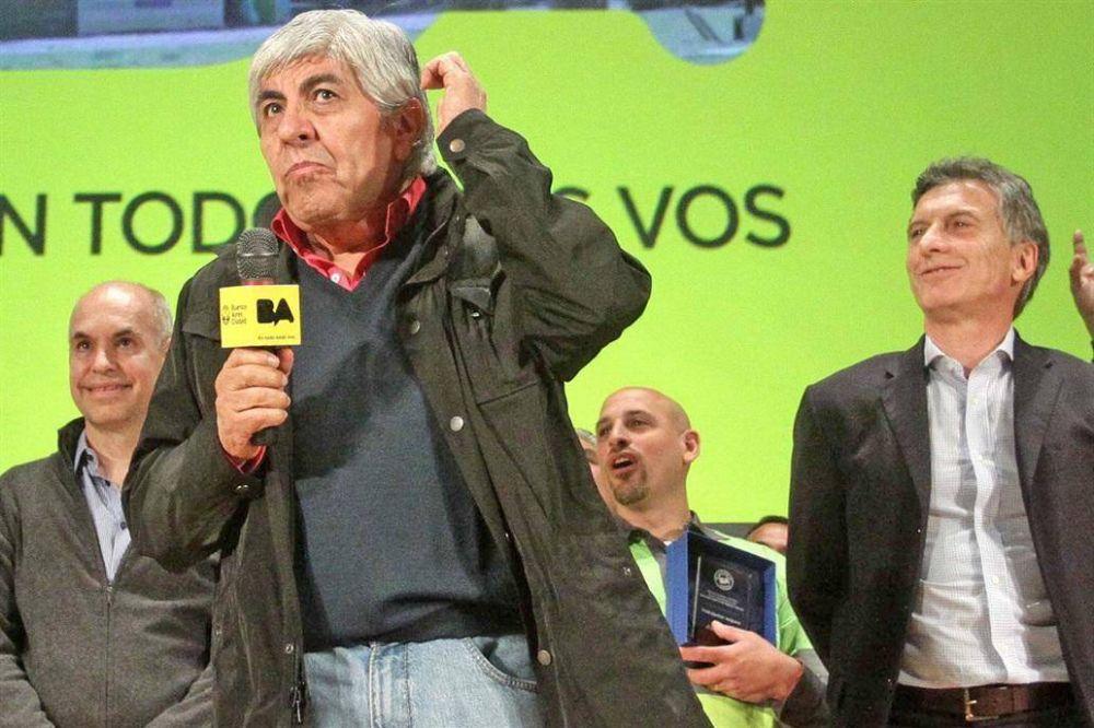 Macri ordenó redoblar la ofensiva contra Moyano y no lo recibirá para dialogar