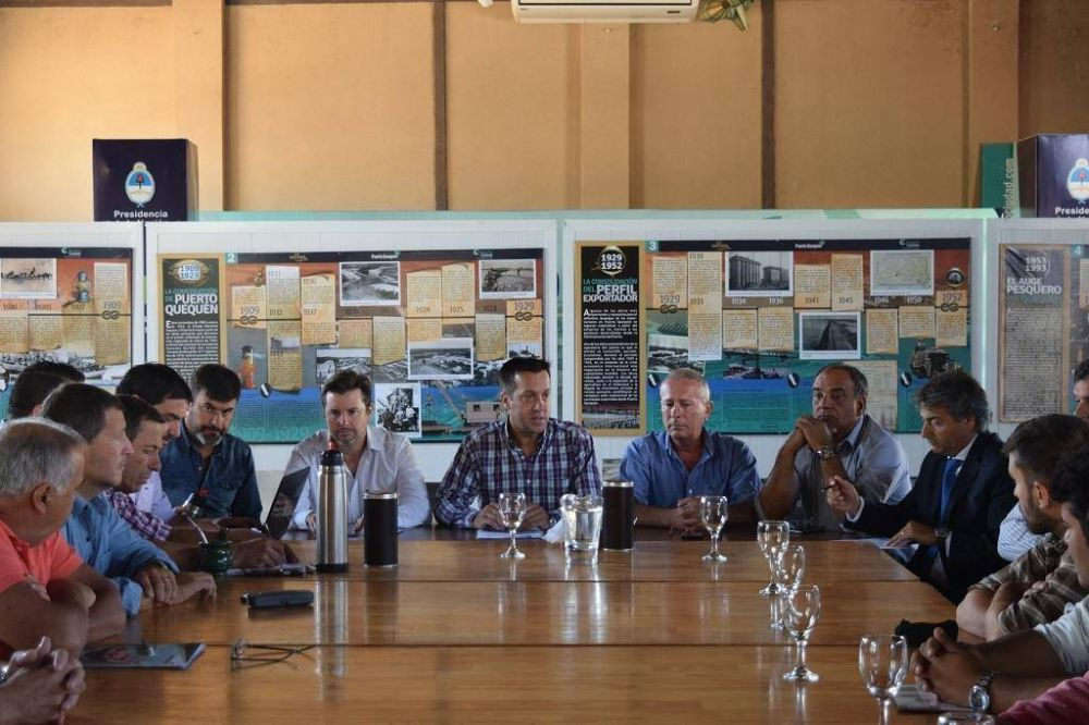 Avanza el diálogo entre el Puerto y los camioneros que pararon días atrás