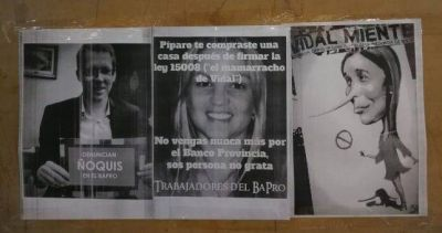 Trabajadores del Bapro acusaron a Píparo de cobrar por votar la reforma previsional en la entidad