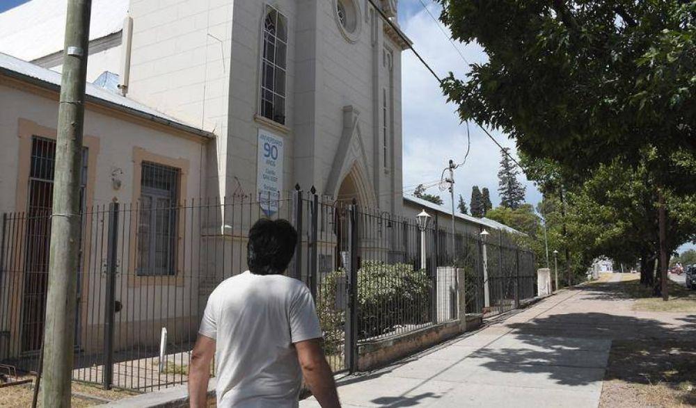 Capilla San José: Llamosas se suma al pedido para evitar el cierre