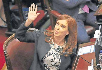 Cristina dice que no quiere 'opacar' el discurso de Macri en el Congreso