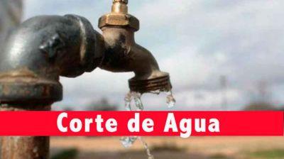 Este lunes se producirá un corte de agua en la Villa Balnearia para reparar una pérdida en la calle 87