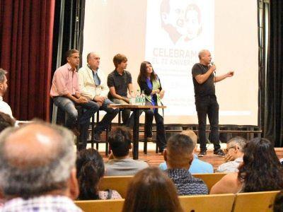 La Plata: El aniversario del primer triunfo de Perón motorizó un nutrido plenario en pos de la unidad