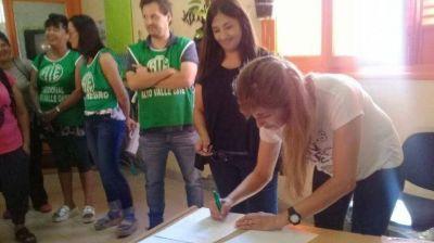 SENAF: ATE exige el pago de becas atrasadas y la firma de los contratos faltantes