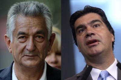 Con olor a candidaturas: Rodríguez Saá y Capitanich se peinan para la foto del plenario de San Luis