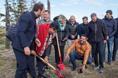 Bertone y Vuoto compartieron agenda con el ministro Bergman