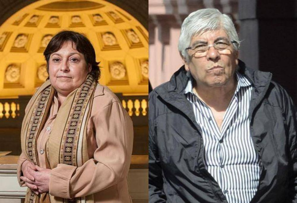 Hugo Moyano contraataca: denunció a Graciela Ocaña por enriquecimiento ilícito