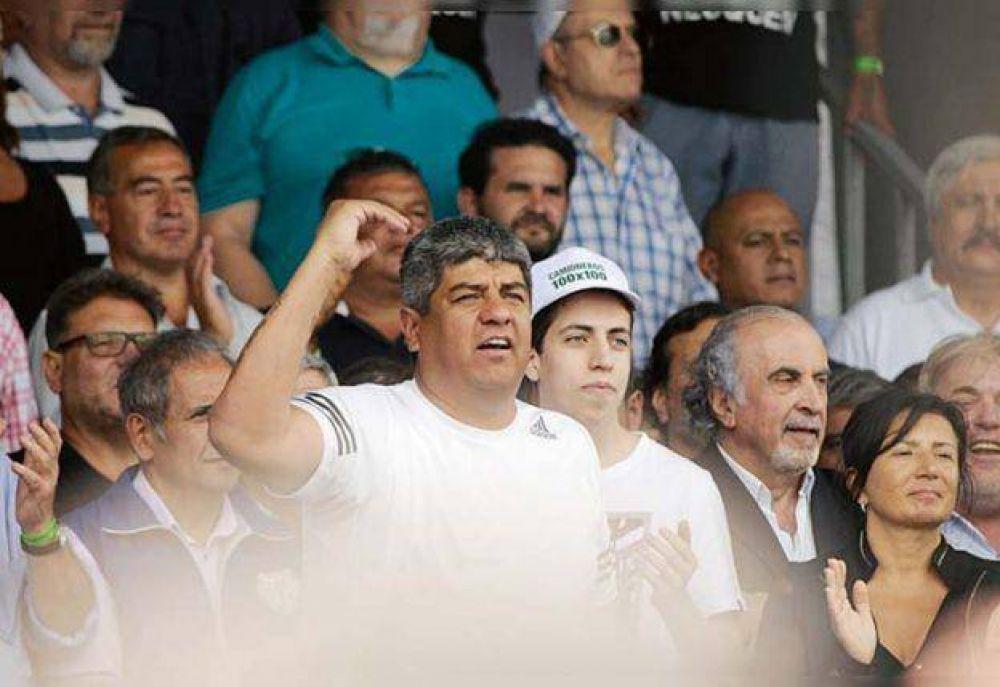 Jerónimo, el último de los Moyano que debutó en la marcha de Camioneros