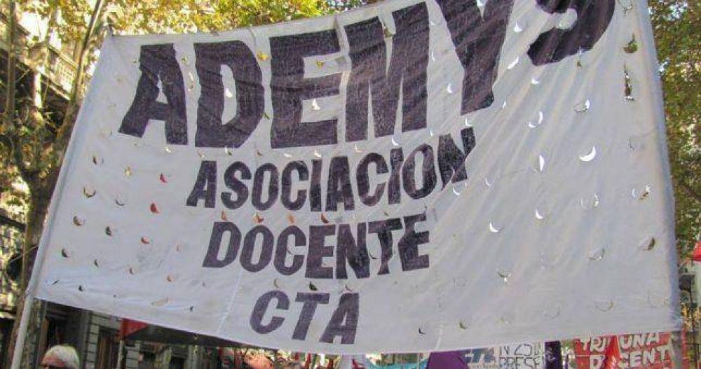 Gremio docente porteño se endurece y decidió cuatro jornadas de paro