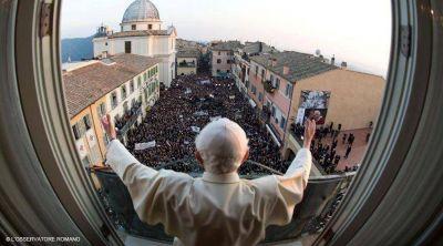 Un día como hoy hace 5 años Benedicto XVI se despidió como Sumo Pontífice