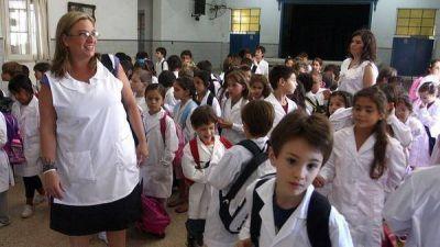 Vuelven las clases en la Ciudad con un paro minoritario