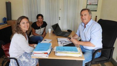Necochea comienza a articular trabajos con las Casas de la Producción