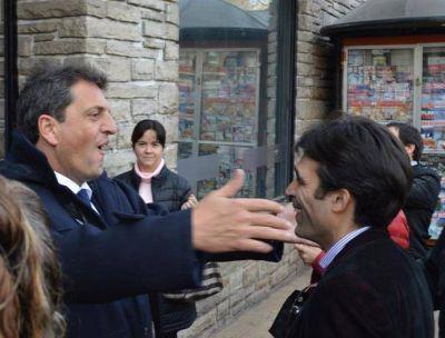 López estuvo con Massa en Chascomús y hablaron de las obras prometidas por Provincia