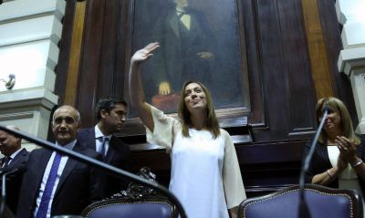 Con eje en seguridad, obra pública e inclusión, Vidal encara su tercera asamblea