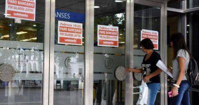 Por segunda semana consecutiva, cancelaron la paritaria de los bancarios