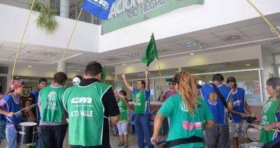 Contra los despidos y el vaciamiento del organismo, ATE volvió a ocupar el Senasa en Río Negro