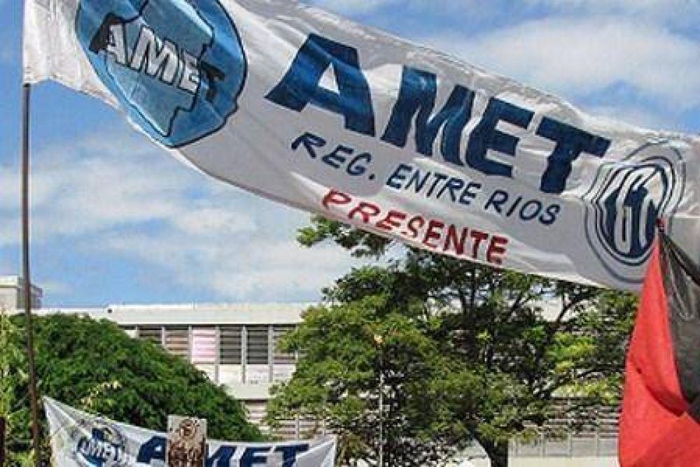 AMET inicia sus asambleas para definir si acepta o rechaza la propuesta salarial del gobierno