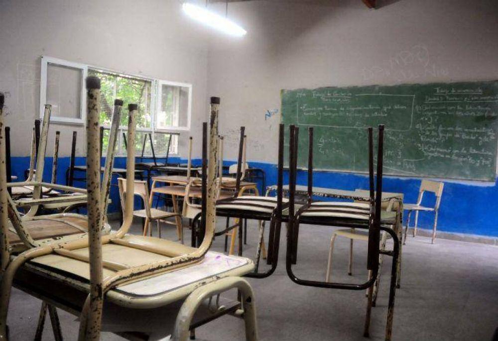 Inicio de clases complicado: un gremio anunció un paro de 48 horas