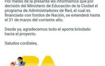 Larreta despidió 90 docentes de escuelas técnicas por mail