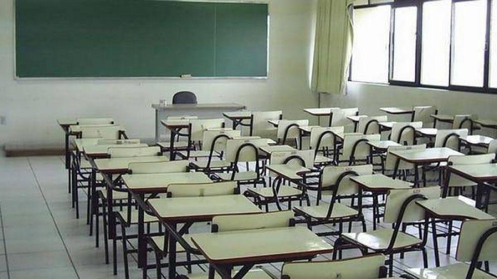 La Provincia les descontará el día a los docentes que paren